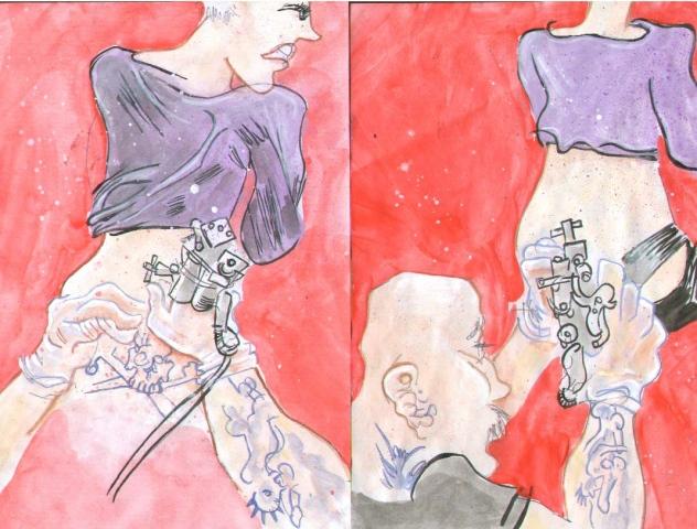 Manko's Tattoo