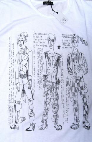 Atomic shirt for MILKBOY,Tokyo