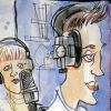 manko Radio recording w. Crazy Girl & Warboy