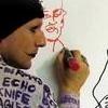 Sketching at Dorian Gray