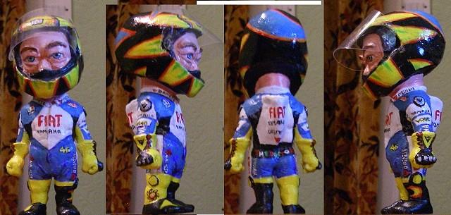 Valentino Rossi figure