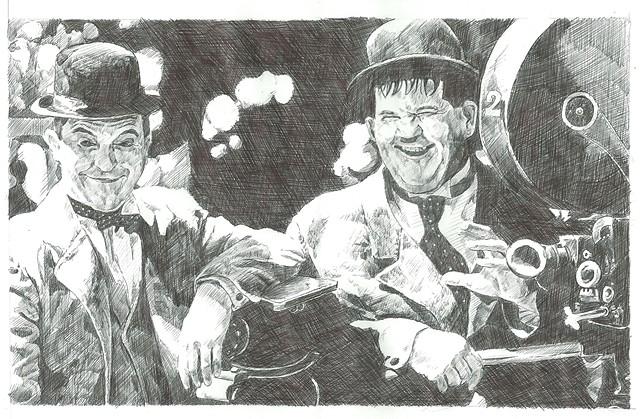 Mr Hardy and Mr Laurel