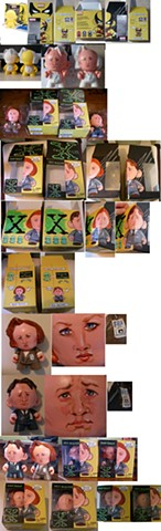Mulder and Scully Munnys
