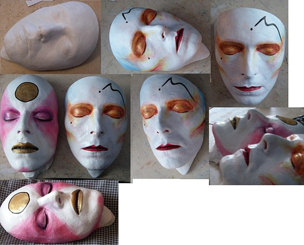 Ashes to Ashes life mask