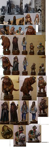 Labyrinth miniatures
