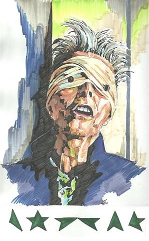 Bowie pen series - Lazerus