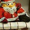Santa cake 2010