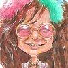 Janis Joplin caricature