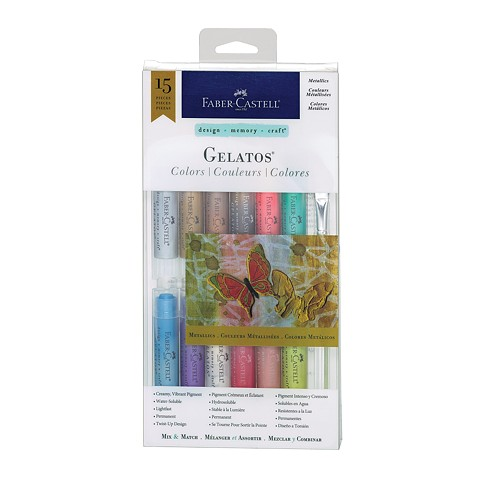 Gelatos  15pc Metallics