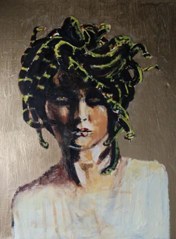 Iconic image of Medusa