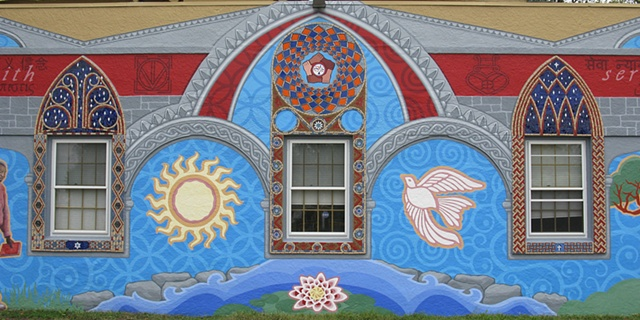 Interfaith Mural in Mt. Airy Philadelphia