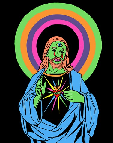 Blacklight Jesus