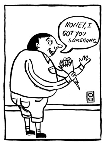 Honey Comic Strip