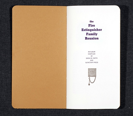 The Fire Extinguisher Family Reunion, title page