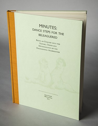 Minutes: Dance Steps for the Beleaguered—cover