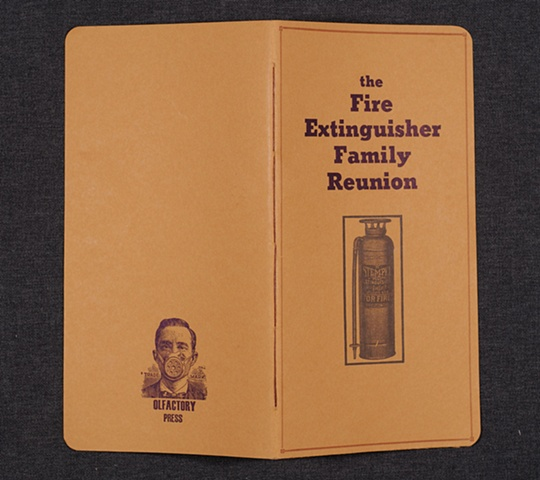 The Fire Extinguisher Family Reunion, cover