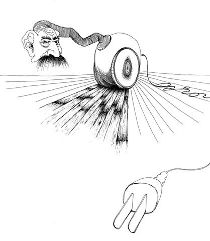 Stalin Vacuum that Scares Me