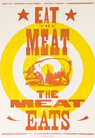 Eat the Meat the Meat Eats