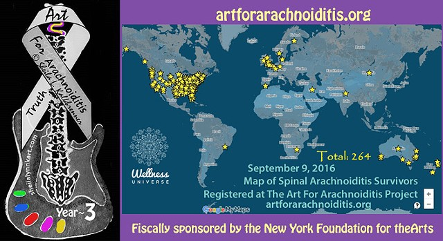 The Art For Arachnoiditis Project YEAR 3