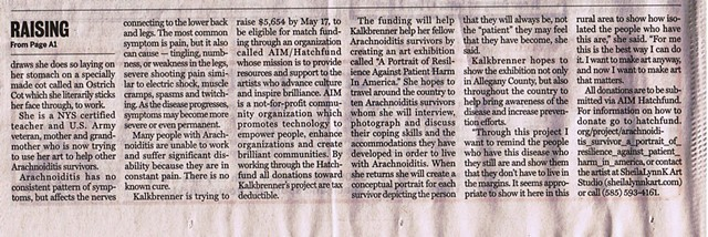 Arachnoiditis Survivor Article (page 2)