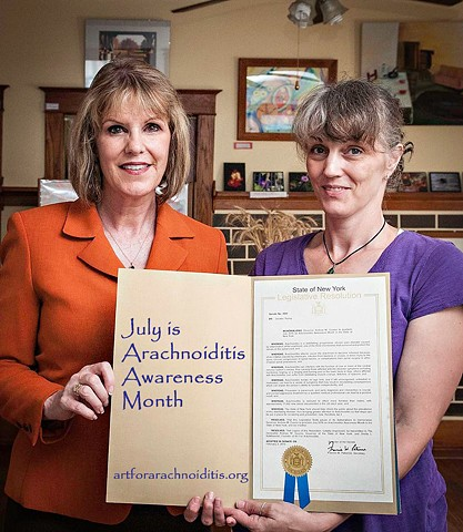 Arachnoiditis Awareness, Senator Catherine Young,