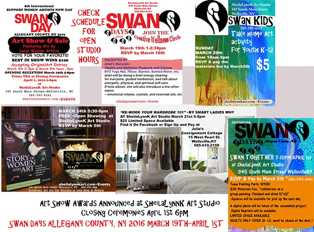 SWAN DAY 2016 Allegany County NY Art Show & Sale
