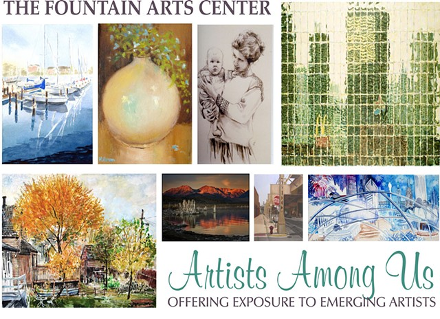 Artists Among Us, Allegany County NY, Wellsville NY, Art, Fountain Arts Center, americans4arts,