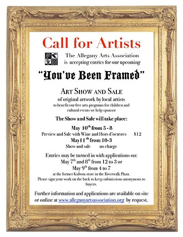 Allegany Arts Association You've Been Framed
