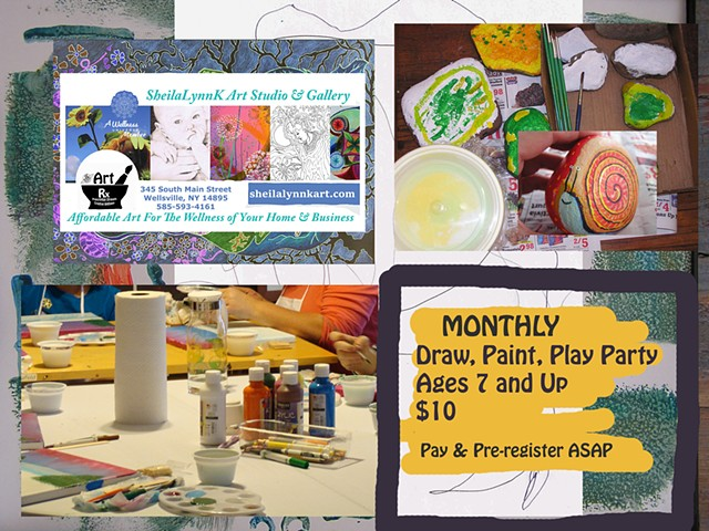 Draw, Paint, Play Party