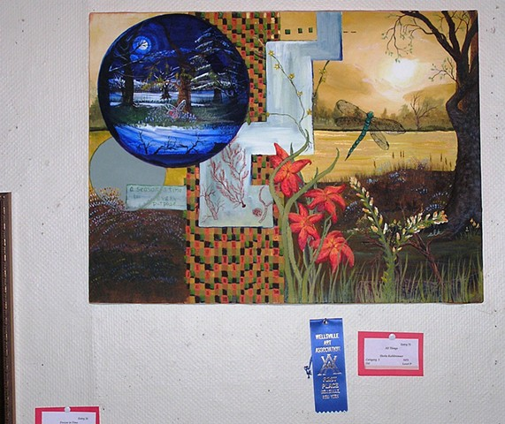 First Place Award~Professional, Open-acrylic
