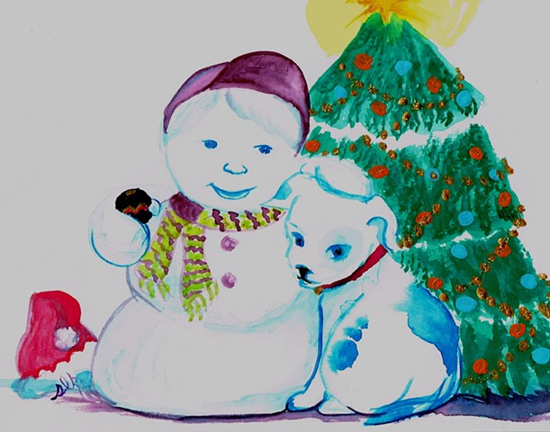 Christmas Cards, Fine Art Christmas Cards, Watercolor Christmas Cards, Wholesale Christmas Cards