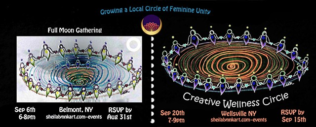 Sister Circles, Wellness Circle, Sacred Circles, Women's Circles,