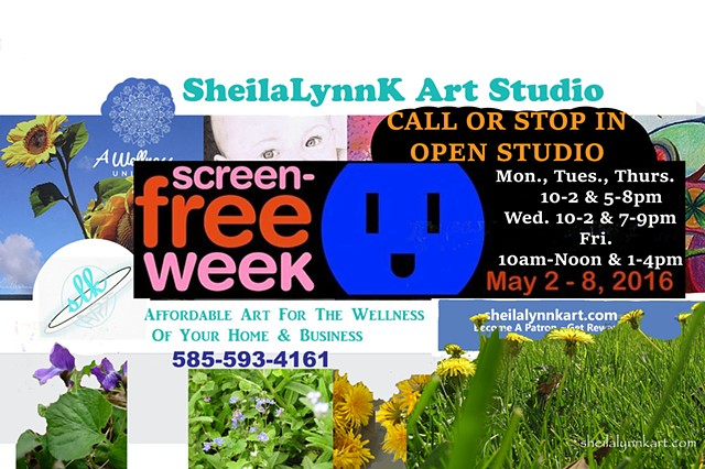 Screen Free Week 2016