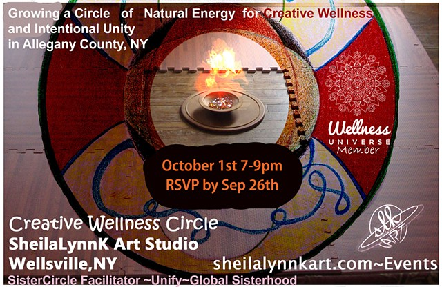 global unity, sister circle, sacred circle, WellsvilleNY, balance, UNIFY