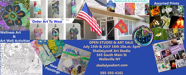 art sale, affordable art, WellsvilleNY,
