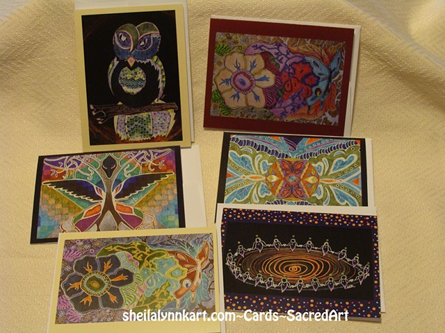 Sacred Art, Sacred Art Note Cards,