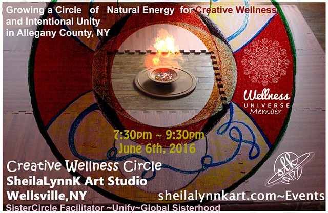 Global Unity, Wellness, Wellsville NY, Creative Wellness, Sistership Circle