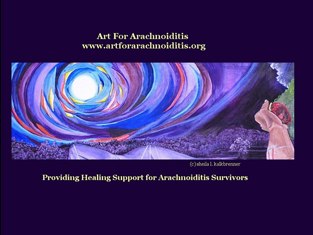 The Art For Arachnoiditis Project Website for Survivors