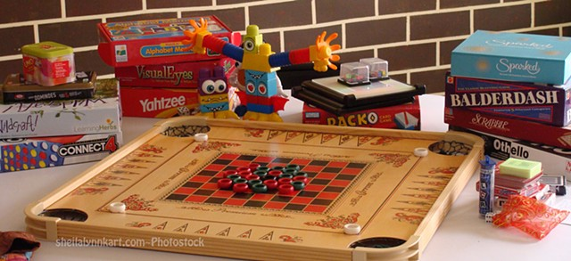 Game Night Photostock, Family Night Photostock, Board Games