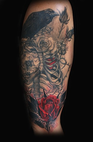 Tattoo by artist Tiffany Garcia 310-800-1313