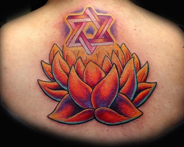 Blooming Lotus by Tiffany Garcia Tattoo Artist Original Custom Tattoos located in Long Beach, Huntington Beach, Carson, Palos Verdes, Los Angeles, West Hollywood, Pacific Coast Highway and surrounding areas in Southern California.