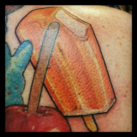 Orangesicle by Tiffany GarciaTop Female Tattoo Artist located in Long Beach, Orange County, LA, Huntington Beach, Carson, Palos Verdes, Los Angeles, West Hollywood, Pacific Coast Highway and surrounding areas in Southern California.