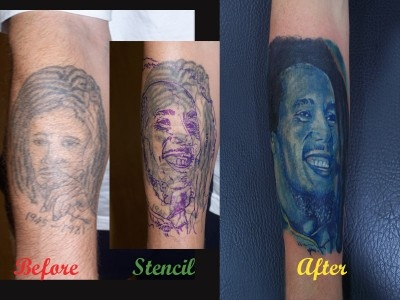 bob marley cover up