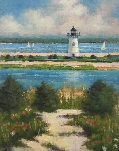 Edgartown Light Path