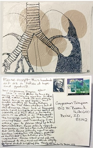Smulovitz, Handmade Postcards of Hope: Postcard 30