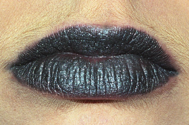 Anika Smulovitz Lips Untitled black
