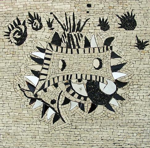 mosaic marble ceramic tile greek contemporary