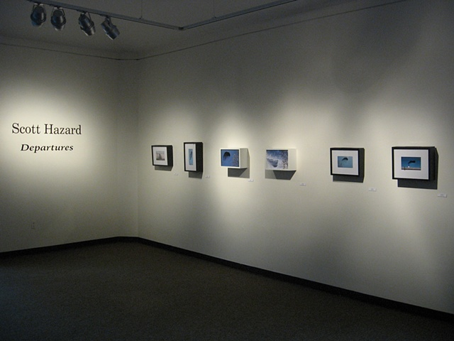 Departures, Smoyer Gallery, Olin Hall Galleries, Roanoke College, Salem, Virginia
