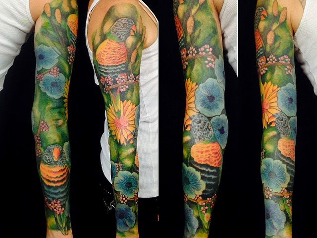 Lorikeet tattoo