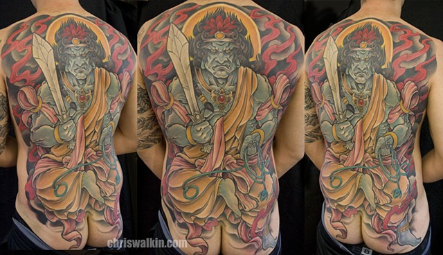 Japanese Fudo Backpiece
